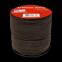 1.6mm (1/16th) Cordage Brown 300ft Spool