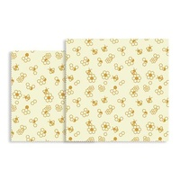 Natural Beeswax Food Wrap 2 Piece Picnic Pack
