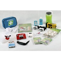 Two Person Deluxe Emergency Storm & Blackout Kit