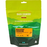 BackCountry Three Fruits Cheesecake 2 Person Freeze Dried Dessert