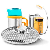 Biolite Campstove + KettlePot + Grill Complete Combo Pack