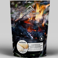 Campers Pantry Freeze Dried Parsnips Sliced