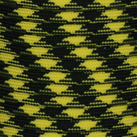 Black & Yellow Paracord 550 7 strand (100ft) Military Spec