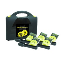 Deluxe Sharps Clean up Biohazard Kit CLEARANCE