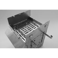 "Adjustable Fire Grate for 5"" Firebox Stove Gen 2"