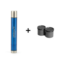 LifeStraw Steel + Spare Carbon Filters