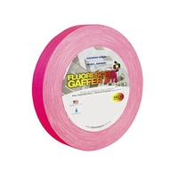 Gaffer Tape 10m Fluro Pink for temporary marking, colour coding, trail marking