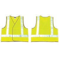 High Visibility Vest Day/Night Yellow