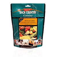 BackCountry Moroccan Lamb Freeze Dried Meal