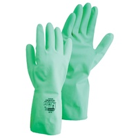 Nitrile Flocklined Chemical Resistant Gloves