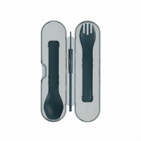 Human Gear GoBites Trio 3-piece Cutlery Set & Case