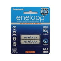 Eneloop Rechargeable Batteries 2xAAA Pack