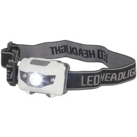 3W LED Head Torch with 2 Red LEDs 80 lumens