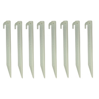 Glow in the Dark Tent Peg Stake 8 Pack