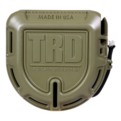TRD Tactical Rope Dispenser OD Green MADE IN USA