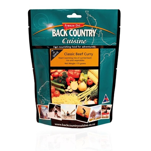 5 Person Classic Beef Curry with Rice Freeze Dried Meal