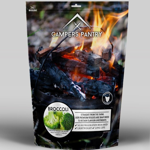 Campers Pantry Freeze Dried Broccoli SMALL PACK