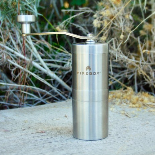 Firebox Stainless Steel Mini Coffee Grinder