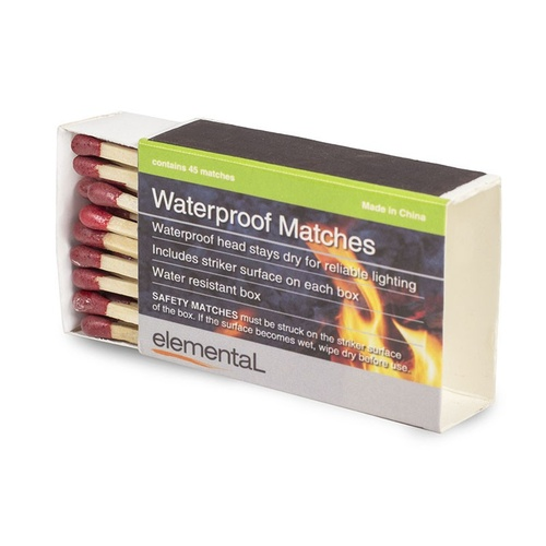 Waterproof Matches (450 match bulk Pack)