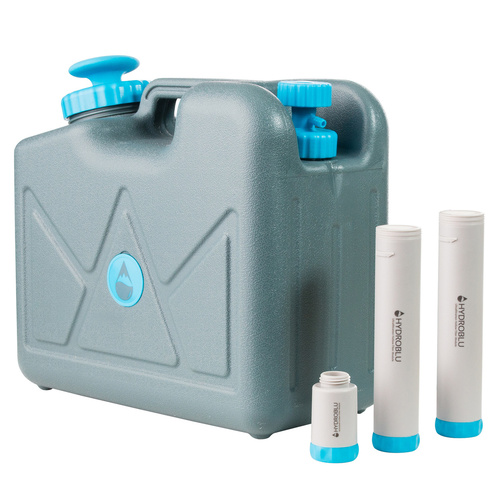 HydroBlu Pressurised 15 Litre Jerry Can Water Filter with Virus Filter