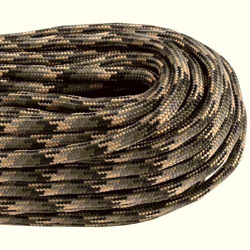 Paracord Forest Camo 550 7 strand (100ft) MADE IN USA