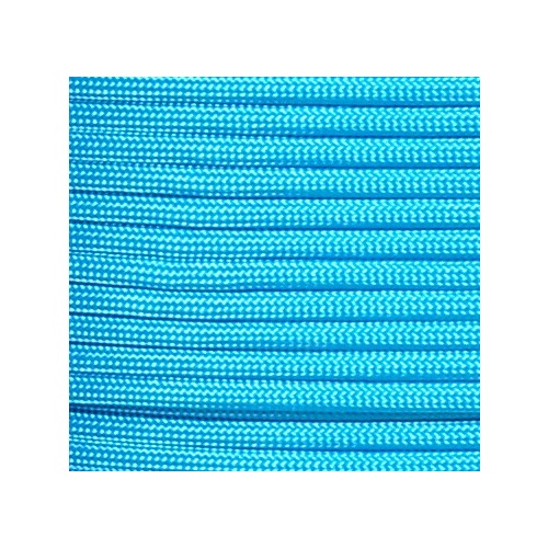 Paracord Neon Turquoise 550 7 strand (100ft) MADE IN USA