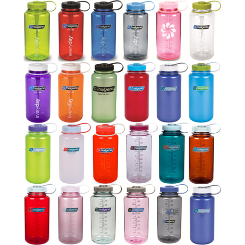 Nalgene Wide Mouth Water Bottle 1 Litre BPA Free ALL COLOURS