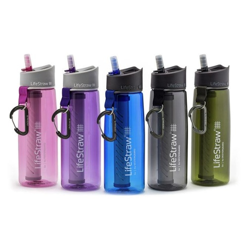 LifeStraw Go Bottle 2-Stage Water Filtration Water Bottle