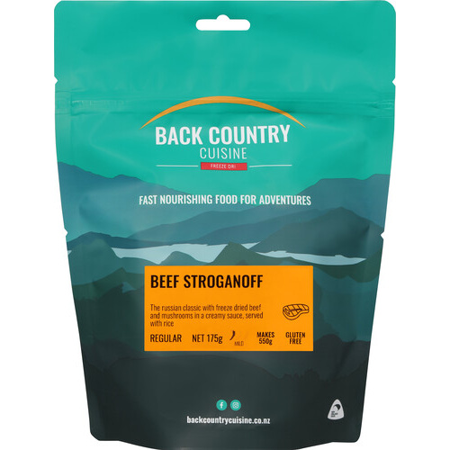 BackCountry Beef Stroganoff Freeze Dried Meal