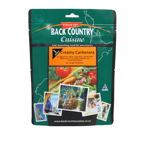 BackCountry Creamy Carbonara Freeze Dried Meal