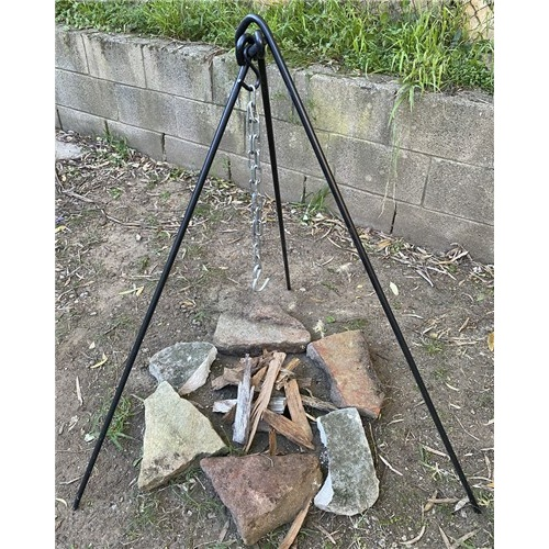 Steel Campfire Collapsible Tripod