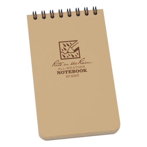 Rite in the Rain No. 935T All Weather Notebook Tan